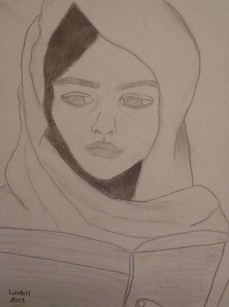 Drawing by Linda El Halabi
